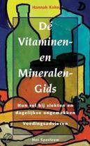 De vitaminen- en mineralengids