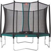 Berg Trampoline Favorit Met Safety Net Comfort 270 Cm Groen