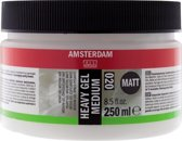 Amsterdam schildermedium flacon 250 ml - heavy gel - mat