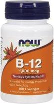 Vitamine B-12 1000mcg 100lozenges