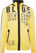 Camp David geel sweatvest uit de