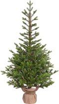Black Box pierson kunstkerstboom groen maat in cm: 120 x 72
