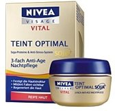 Nivea visage vital 3-voudige anti age nacht créme 50ml