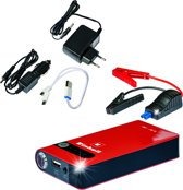 Einhell CC-JS 8 Energiestation / Powerbank / Starthulp - Lader (input): 100 - 240 V / 50-60 Hz - Lader (output): 15 V / 1000 mAh - Inclusief accessoires
