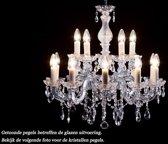 Kristallen kroonluchter Maria Theresa 10+5 lichts Ø60cm - chroom kristal