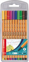 STABILO Point 88 Fineliner - Etui 10 stuks
