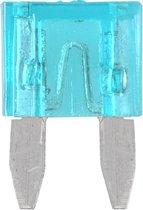 Steekzekeringen mini 15A blauw 10st