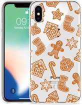 Apple iPhone X Hoesje Christmas Cookies