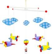 Mobiel Luchtballon met vliegtuigen