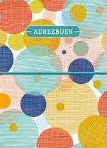 Adresboek (klein - A6) - Circles