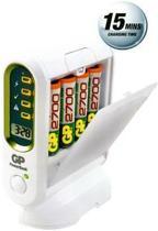 GP PowerBank Premium V800C - Battery charger - 4xAA/AAA - included batteries: 4 x AA NiMH 2700 mAh