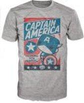 Merchandising CAPTAIN AMERICA - T-Shirt POP - Fighting for Freedom (XL)