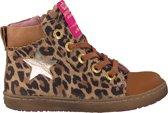 Shoesme Meisjes Sneakers Ur9w049 - Cognac - Maat 25