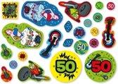 Confetti 50 jaar 300 gram - 50ste verjaardag confetti