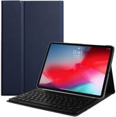 Lunso - afneembare Keyboard hoes - iPad Pro 11 inch - blauw