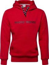 MONACO MESH HOODIE - RED/BLACK