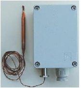 Industriële Thermostaat, Capillaire thermostaat type 2, sensor 125cm