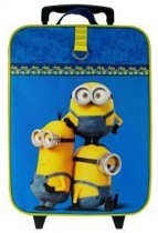 Minions Superbad - Kinderkoffer - 40 cm - Geel/Blauw