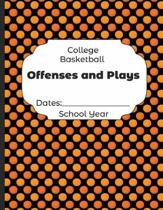 College Basketball Offenses and Plays Dates