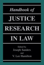 Handbook of Justice Research in Law