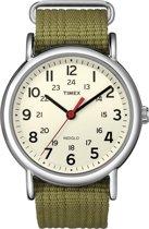 Timex T2N651 Horloge Olijf