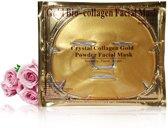 Collageen gezichtsmasker - Huidverzorging - Maskers - Goud collageen - Natuurlijk huidpRooduct - 5 stuks - Een heerlijk verzorgend masker