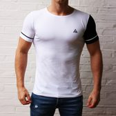 Slim fit T-shirt - Small -  Wit - Cicwear