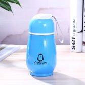 LeuksteWinkeltje thermosfles - Pinguin - RVS - 260 ml - thermosbeker