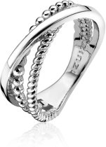 Zinzi Jewels Zilveren Ring  (Maat: 50) - Zilver