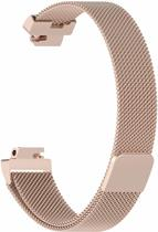 YONO Milanees bandje - Fitbit Inspire (HR) - Champagne - Small