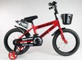 """Generation BMX fiets 16"""" Rood"""
