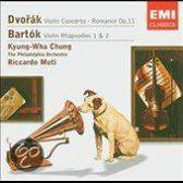 Dvorak: Violin Concerto; Romance; Bartok: Violin Rhapsodies Nos. 1 & 2