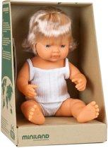 Miniland pop Europees meisje blank badpop 38 cm