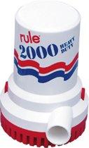Rule 2000 Bilgepomp 24 Volt