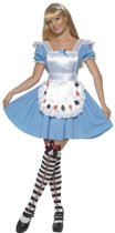 Sprookje Alice jurkje / kostuum voor dames maat 36-38 (S)