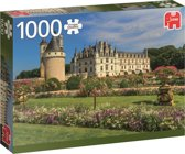 Castle in the Loire Kasteel in de Loire Jumbo Premium Collection Puzzel 1000 Stukjes