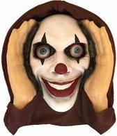 Haza Original Raamdecoratie Scary Peeper 40 Cm Lenticular Eyed Clown