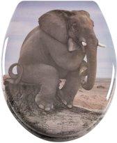 Softclose toiletbril Elephant