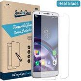 Just in Case Tempered Glass Motorola Moto G6 Plus Protector - Arc Edges