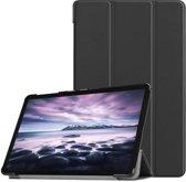 Samsung Galaxy Tab A 10.5 hoesje - Smart Tri-Fold Case - zwart