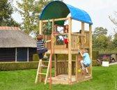 Jungle Gym - Jungle Farm - Houten Speeltoren - Brandweerpaal