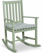 Lanterfant® Schommelstoel Noor – Met zitkussen - Voor binnen en buiten - Groen