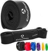 #DoYourFitness Weerstandsband - 2080 mm - zwart