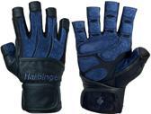 Harbinger - BioForm® Pro WristWrap - Fitness Handschoenen - XL - Zwart/Blauw