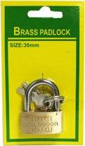 Hangslot 30MM |koffer slot |Bagageslot Brass padlock