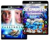 Passengers & De Smufen En Het Verloren Dorp (4K Ultra HD Blu-ray)