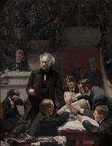 Thomas Eakins : The Gross Clinic (1875) Canvas Print