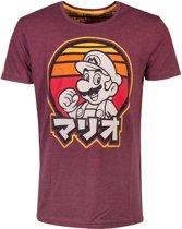 Nintendo - Retro Mario T-shirt - 2XL