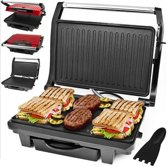Dunlop Contactgrill, panini maker, tosti apparaat 1000W
