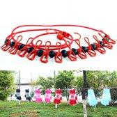 camping outsoor kleer hangers - Red